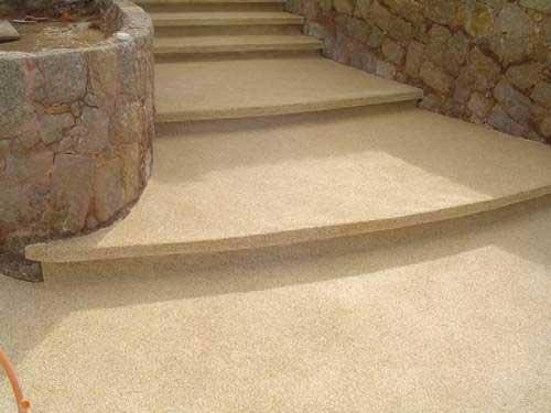 piso fulget na escada