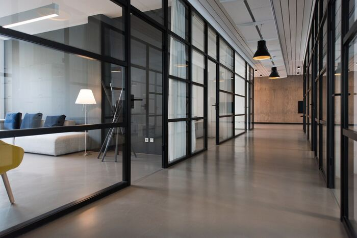 piso para área comercial