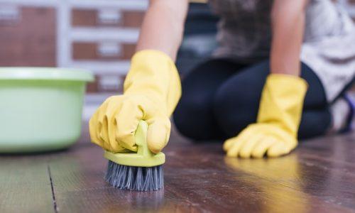 Como limpar piso encardido