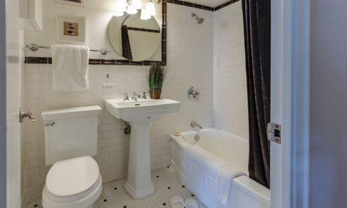 decoração para banheiro pequeno